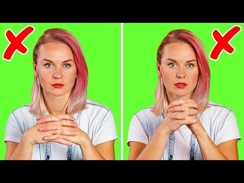 12 Gestures That Make You 100% Less Attractive