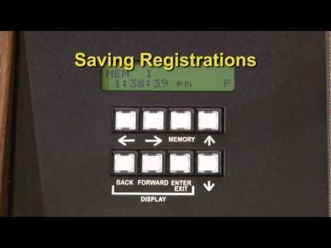 Saving Registrations