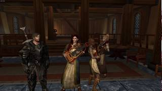 Skyrim Become a Bard Mod - Malukah song