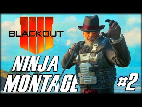 BLACKOUT - NINJA MONTAGE! #2 (Funny Moments, Bowie Knife Feeds & Trolling Noobs)