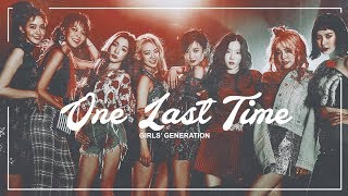 girls' generation | one last time