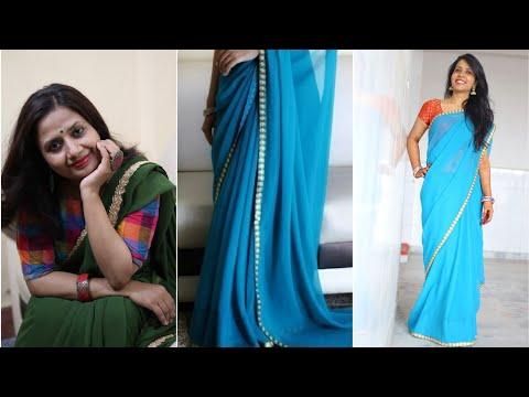 10 Sari/Saree Style Tips for Short Women - साड़ी में लंबे और पतले कैसे दिखें