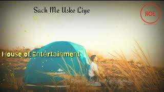Ye Ishq Mohabbat To Moh Maya Hai sad shayari sad lines ????sad status video ???????? HOE