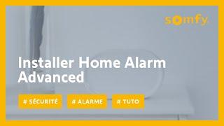 Comment installer le système de sécurité Somfy Home Alarm Advanced ?   Somfy