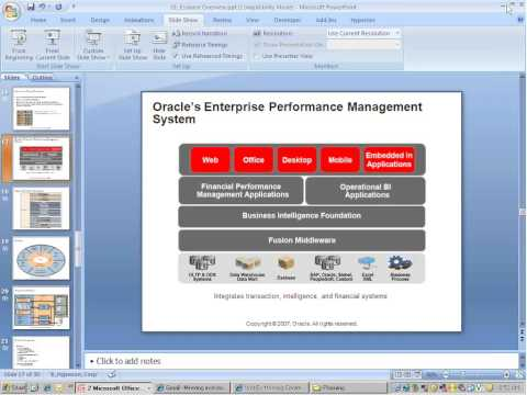 Introduction to Oracle EPM & Hyperion - Hyperion Online Training at ...