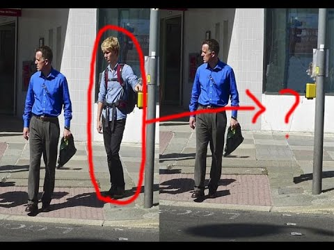 How to remove person from photo in photoshop