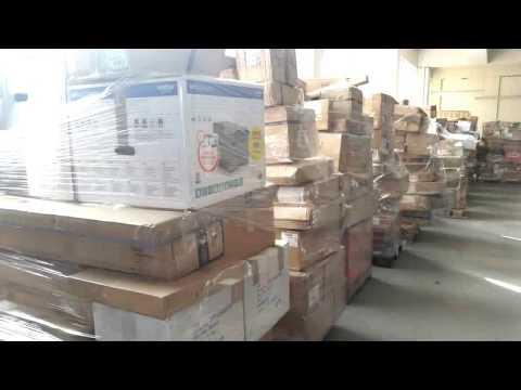 Palettenware Restposten Grosshandel Insolvenzware Retourenware