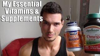 My Vitamins & Supplements: Omega, Creatine, CLA, and...