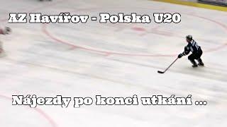 preview picture of video 'AZ Havířov - Polska U20: Nájezdy po konci utkání ... 1. 8. 2014'