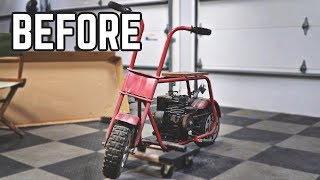 Vintage Mini Bike Restoration | Budget Build & Built Flathead!