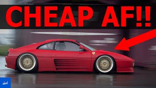 Top 5 Cheapest Ferrari Models You Can Buy