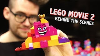 LEGO Movie 2 Design Process Behind the Scenes (SPOILERS)