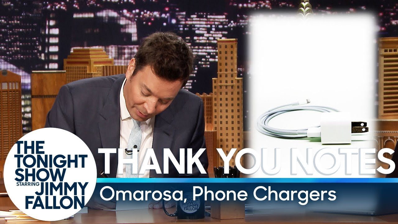 Thank You Notes: Omarosa, Phone Chargers thumbnail