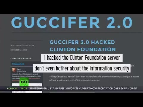 Clinton Foundation Hack: 'Guccifer 2.0' claims to uncover docs, 'pay to play' folder