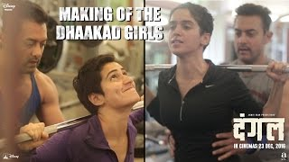 Making of The Dhaakad Girls - Dangal Videos