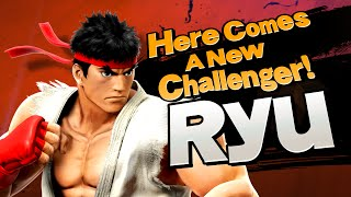 【Smash Bros. for Nintendo 3DS / Wii U】 Here comes a new challenger! RYU.
