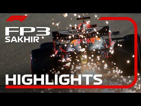F1 第16戦サクヒール FP3の様子をまとめたハイライト動画