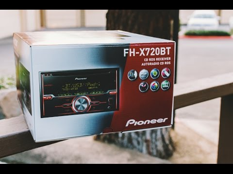 Pioneer FH-X720BT Car Stereo Review!
