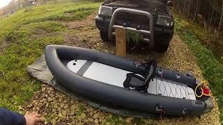 Лодка для подводного охотника