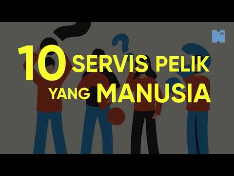 Suka benda-benda pelik? Ini Top 10 Servis Pelik Yang Manusia Tawarkan
