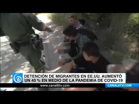 Detención de migrantes en EE.UU. aumentó un 40% en medio de la pandemia de COVID-19