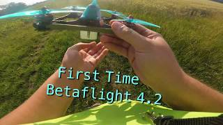 FPV Drone Radiomaster TX16S Maidenflight First Time Betaflight 4.2