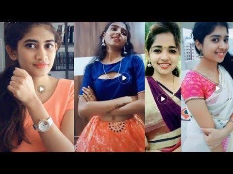 Tamil girls Dubsmash funny comedy's tiktok videos    Funny Compilations
