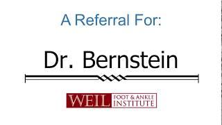 Testimonial - Dr. Bernstein