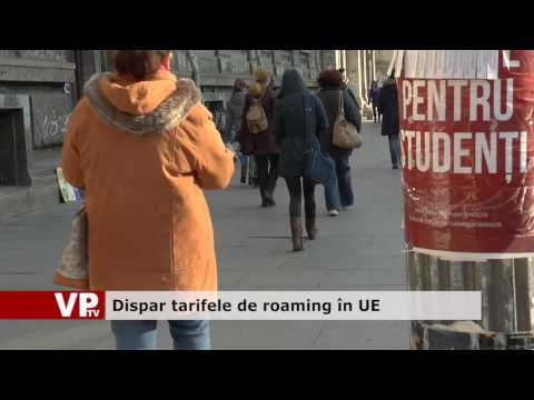 Dispar tarifele de roaming în UE