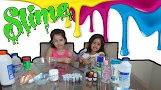 FAZENDO SLIME (BRINCANDO DE SLIME) - VIDEOS FOR CHILDREN WITH SLIME