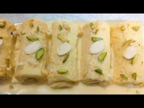 Easy malai roll recipe।।Cooking recipe by Sanjida।।