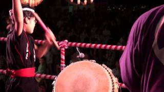 丸の内音頭・盆太鼓 2010年版 (日比谷公園・大盆踊り大会 100821)