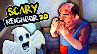 NEW PRANK ON ROOMMATE! Did ALL the dirty tricks and REVENGE NEIGHBOR Fun game ScaryNeighbor 3D