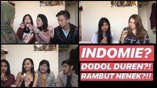 REAKSI MURID2 INTERNATIONAL TERHADAP MAKANAN INDONESIA (subtitle INDONESIA di settings)