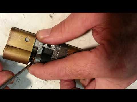 KESO 4000 S Zylinder zerlegen Tutorial Video 1294 Schlosserei Oldorf