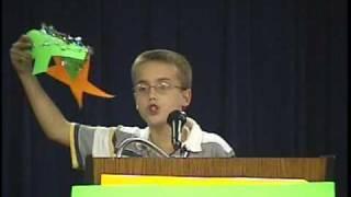 Travis' grade 6 speech