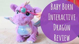 """Большой интерактивный дракон Baby Born Wonderland Dragon от компании Интернет-магазин """"Timatoma"""" - видео"""