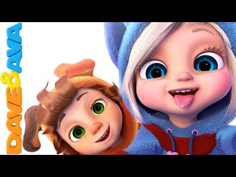 😻Nursery Rhymes & Baby Songs | Nursery Rhymes and Kids Songs from Dave and Ava 😻