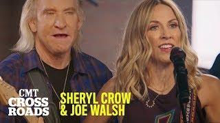 Sheryl Crow & Joe Walsh Perform