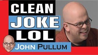 Clean Jokes, Corporate Comedian John Pullum 100% Clean