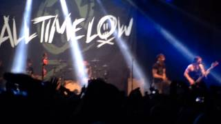 All Time Low - The Irony of Choking on a Lifesaver (Stockholm, Sweden 18.02.14)