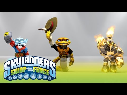 E3 Show: Skylanders SWAP Force Trailer l Skylanders SWAP Force l Skylanders thumbnail