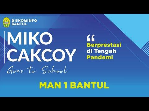 MAN 1 Bantul Berprestasi di Tengah Pandemi | Miko Cakcoy Goes to School