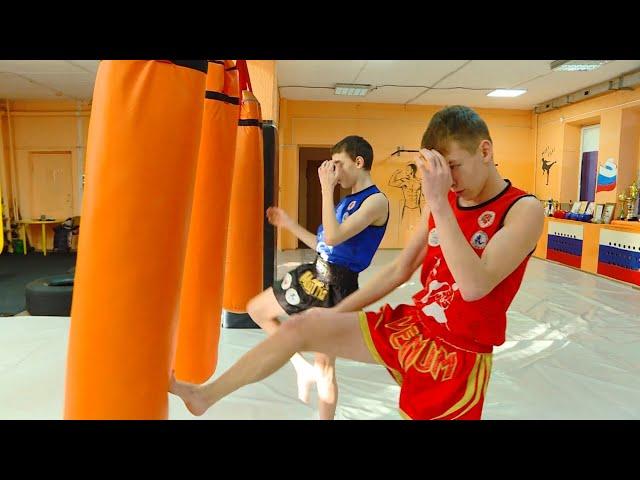 Ангарские тай-боксёры выиграли Первенство России