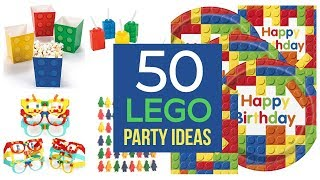 50 Best Lego Party Ideas And Supplies!