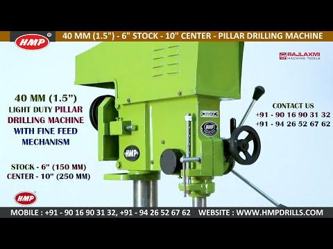 HMP-35 40mm Mini Radial Drilling Machine