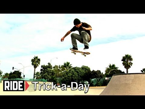 How-To Skateboarding: Frontside Kickflip with Tommy Sandoval