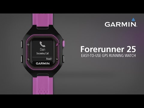Forerunner 25: Easy-to-use GPS Running Watch