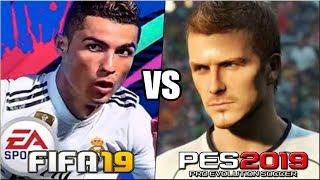 FIFA 19 vs PES 2019 | Novedades y diferencias principales. ¿Cual comprar?