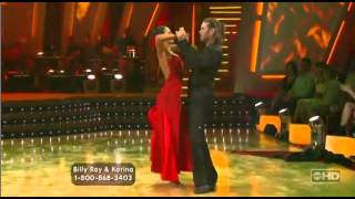 dwts billy ray karina w4